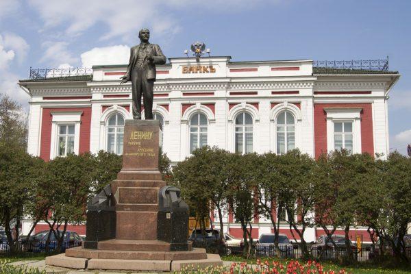 Tour Anello d'Oro, Vladimir, monumento a Lenin
