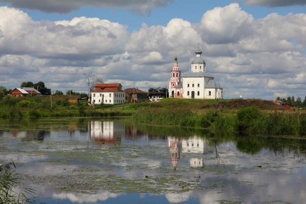 Tour Anello d'Oro, vista sul Monastero di Suzdal