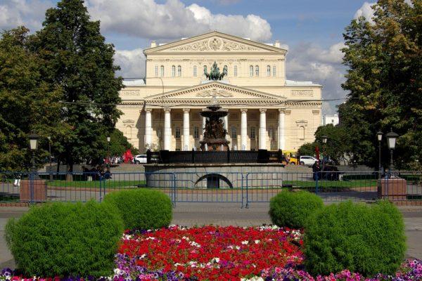 Tour Mosa, teatro bolshoi