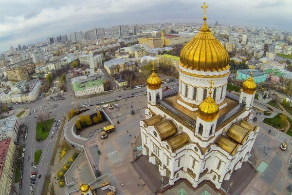 Viaggio in Russia, Cattedrale di Cristo Salvatore