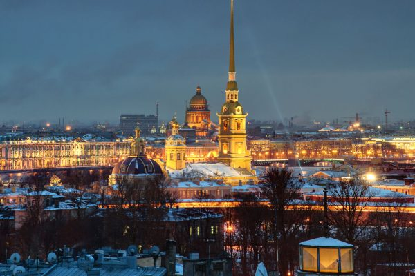 Tour San Pietroburgo, Fortezza di Pietro e Paolo