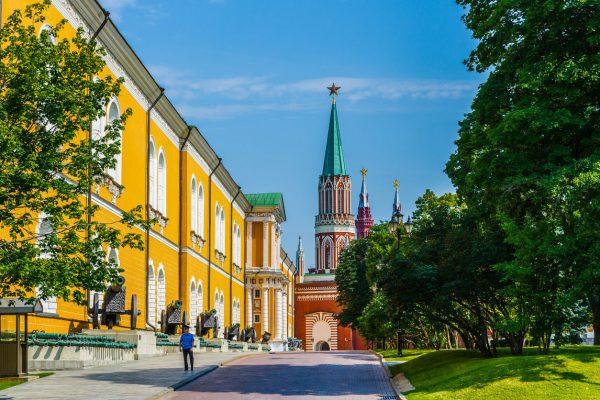 Tour a Mosca, palazzi governativi sovietici dentro il Cremlino