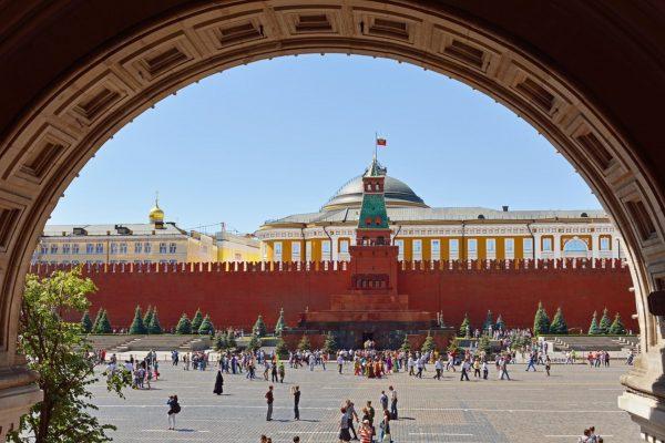 Viaggio in Russia, vista sul Cremlino di Mosca