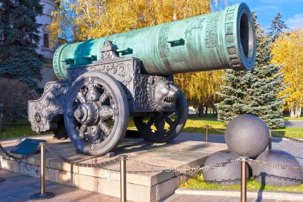 Viaggio in Russia, Cremlino di Mosca, Cannone Zar