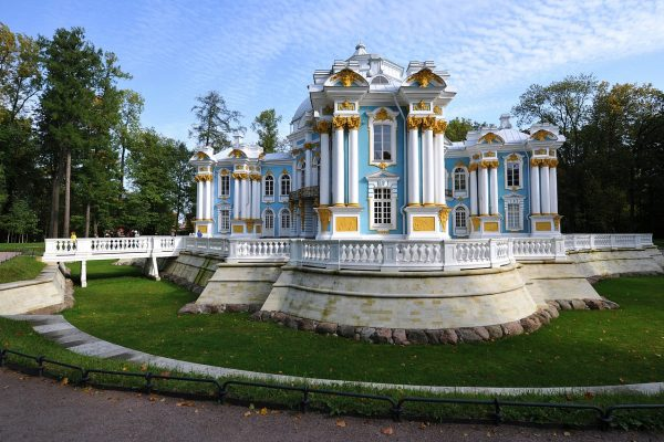 padiglione ermitage -tsarskoe selo immagini di san pietroburgo