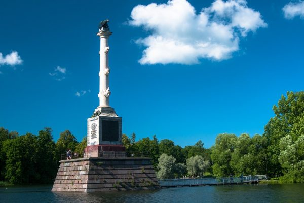 Chesmenskaja colonna - tsarskoe selo