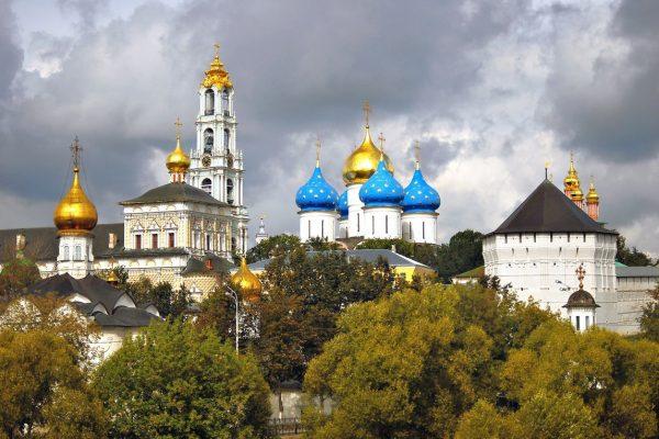 Tour Anello d'Oro, vista sul Monastero di Sergiev Posad
