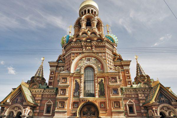 Tour San Pietroburgo, Chiesa Sul Sangue Versato