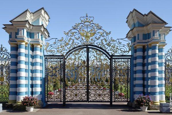 cancello palazzo di caterina II - tsarkoe selo