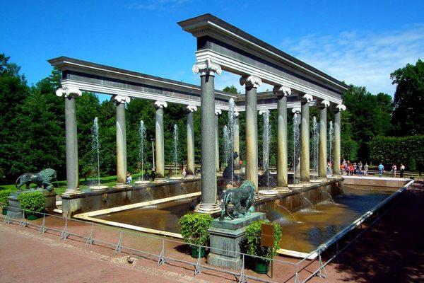 fontana cascata dei leoni - peterhof - fonte-putidorogi-nn.ru