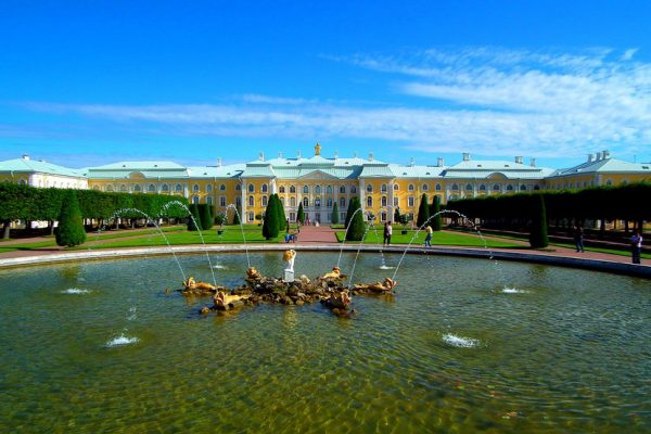 fontana dubovyj - palazzo grande - peterhof - fonte putidorogi-nn.ru