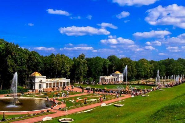 fontane parco inferiore - peterhof - putidorogi-nn.ru
