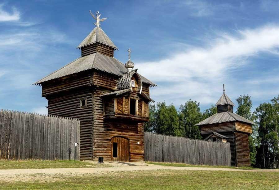 Chiesa in legno, Russia