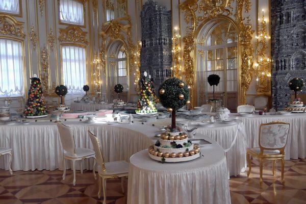 palazzo di caterina II - tsarskoe selo - sala interna
