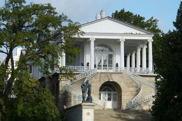 palazzo di caterina - tsarskoe selo - galleria del cameron