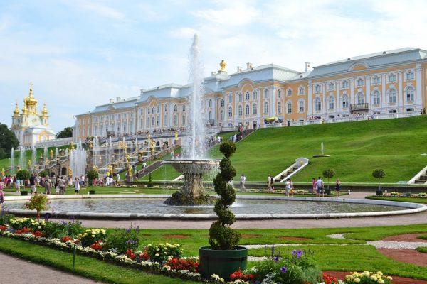 San Pietroburgo: parco e fontane di Peterhof, i giardini sul Baltico