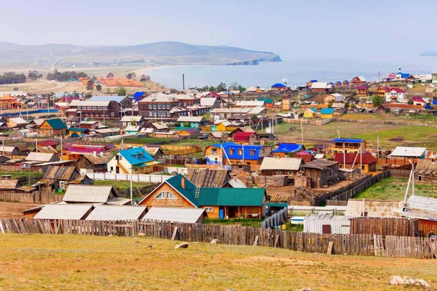 Il villaggio in Siberia