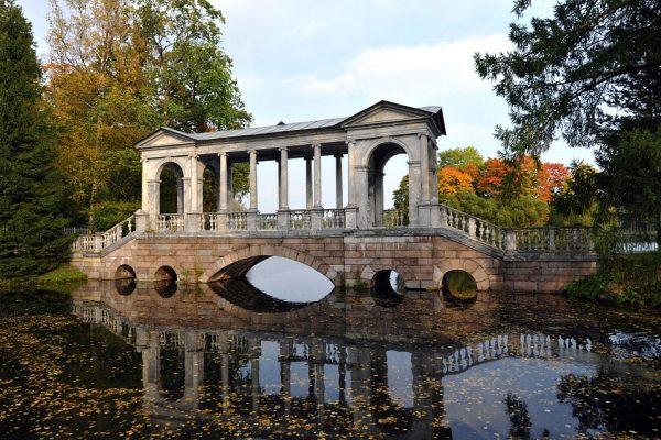 tsarskoe selo - ponte di marmo