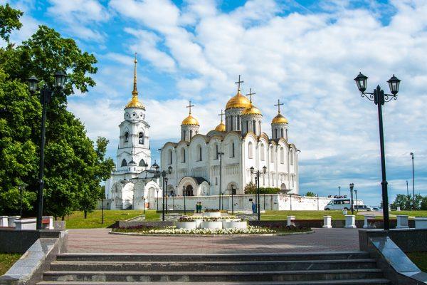 vladimir - cattedrale della dormizione