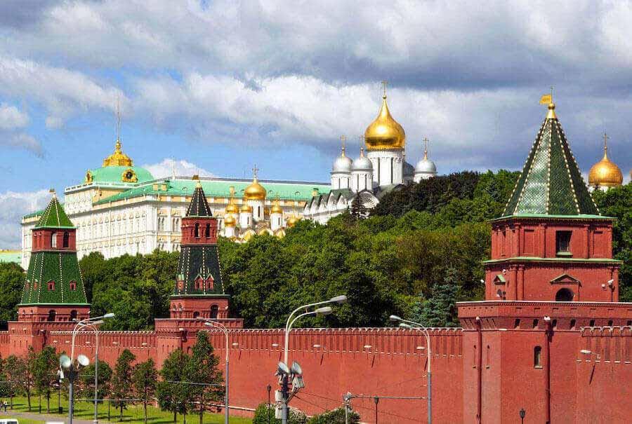 La Piazza Rossa, il Cremlino e la Chiesa di San Basilio