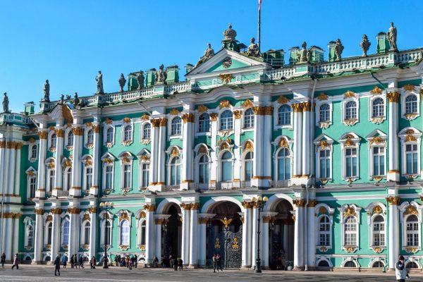 Tour San Pietroburgo, Palazzo d'inverno, sede dell'Ermitage