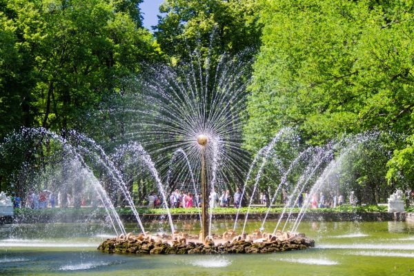 Tour San Pietroburgo, reggia di Peterhof fontana del Sole
