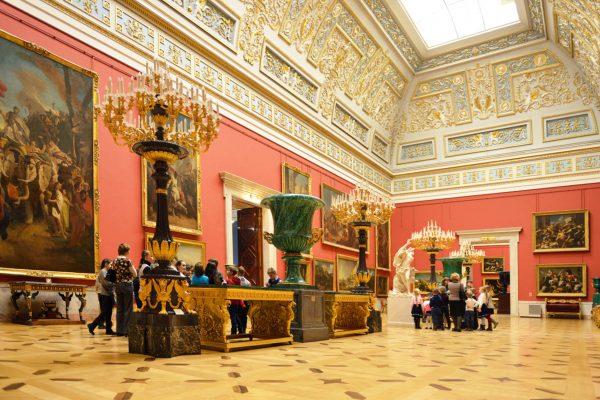 Tour San Pietroburgo, sala interna dell'Ermitage