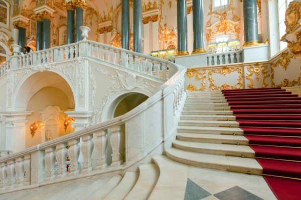 Tour San Pietroburgo, scale interne del Museo Ermitage