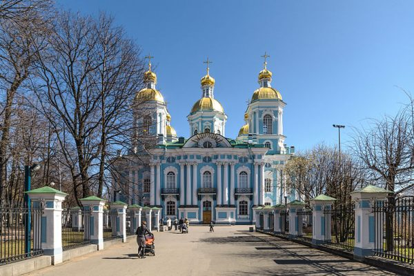 Tour San Pietroburgo, Cattedrale di San Nicola Marino