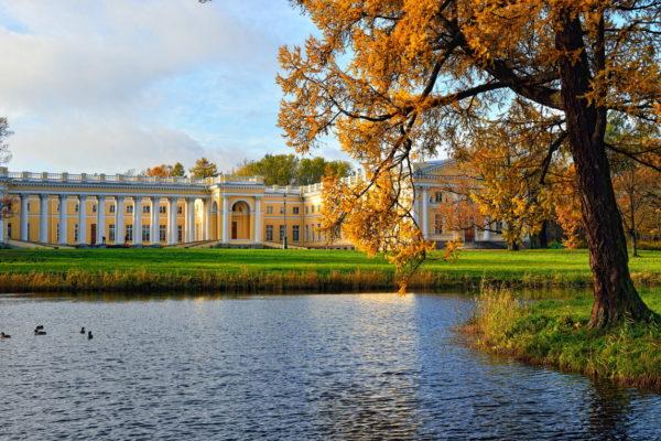 Tour San Pietroburgo, Palazzo di Alessandro nel parco Pushkin (tsarskoe selo)