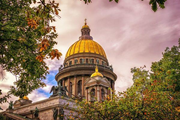 immagini di San Pietroburgo cattedrale di Sant'Isacco