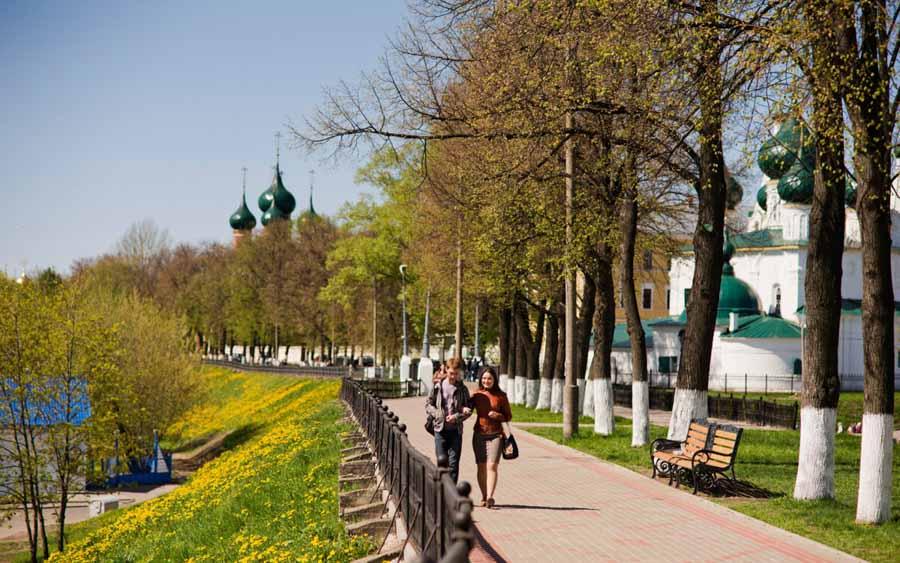 Centro di Yaroslavl, Tour dell'Anello d'Oro