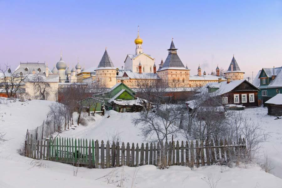 anello d oro inverno neve russia