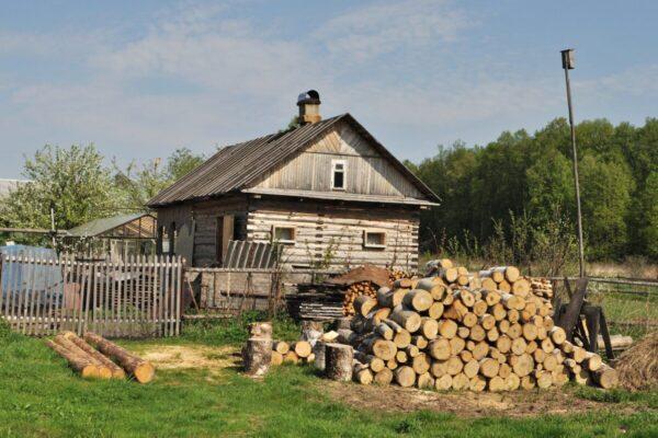 casetta di legno tradizionale, Tour di Mosca e città dell'Anello d'Oro