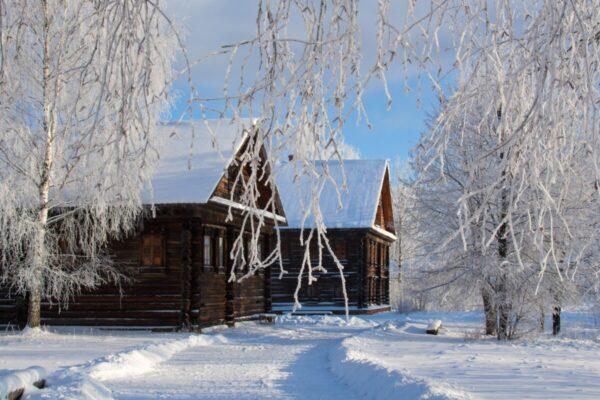 inverno nel cuore della russia