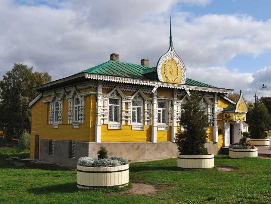 palazzo nella città dell'Anello d'Oro