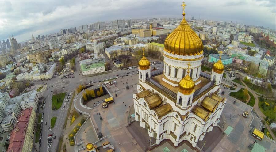 Chiesa Russa a Mosca, Viaggio Mosca San Pietroburgo
