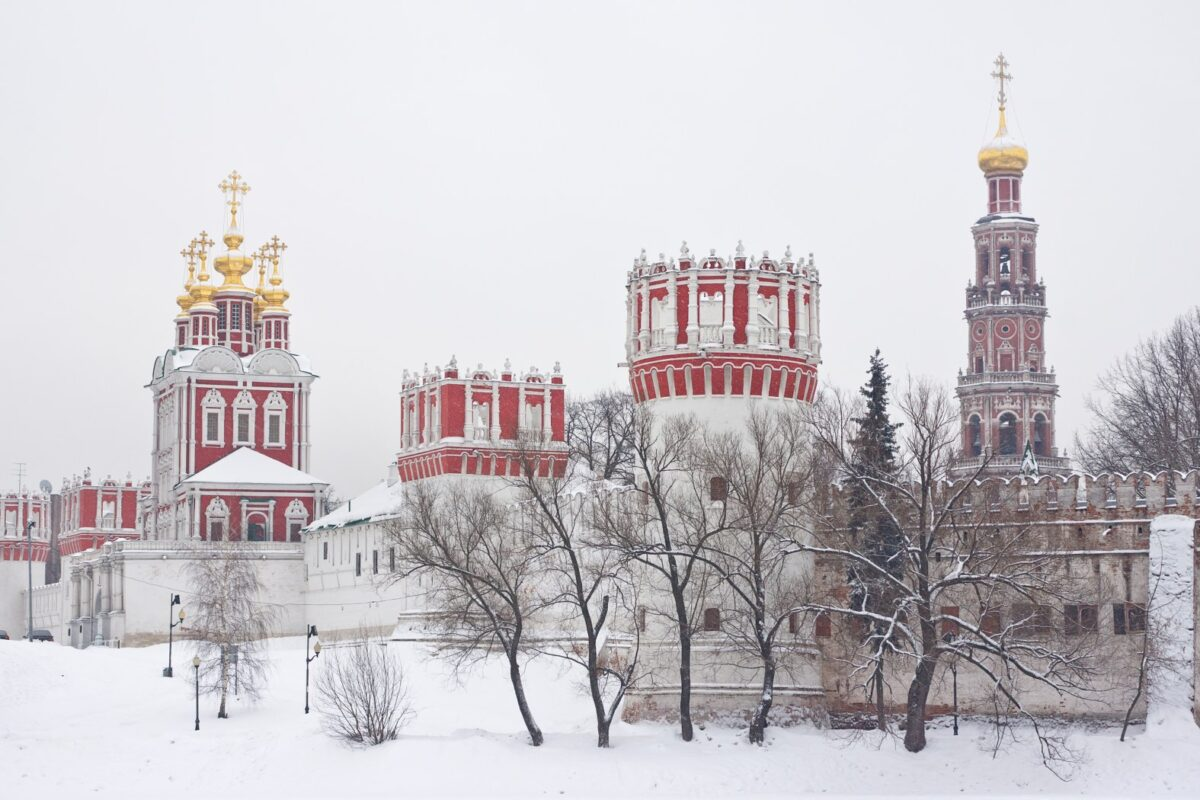 Russia d'inverno, Viaggio Mosca San Pietroburgo