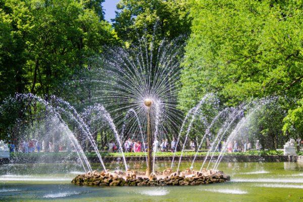 Fontana, Mosca San Pietroburgo