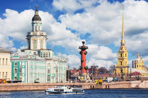 San Pietroburgo centro, Viaggio Mosca San Pietroburgo