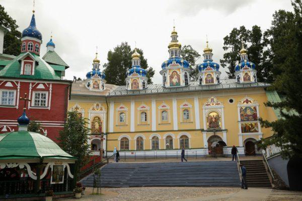 La chiesa, città di Pskov