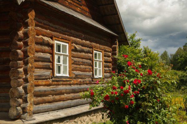 La casa tradizionale russa