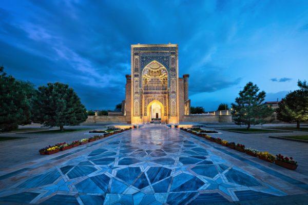 Palazzo in Uzbekistan