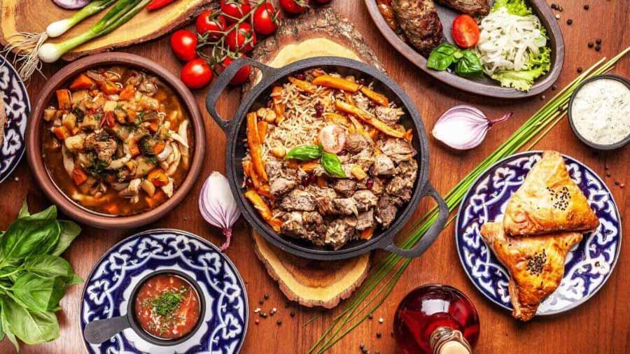 Piatti tipici di Uzbekistan