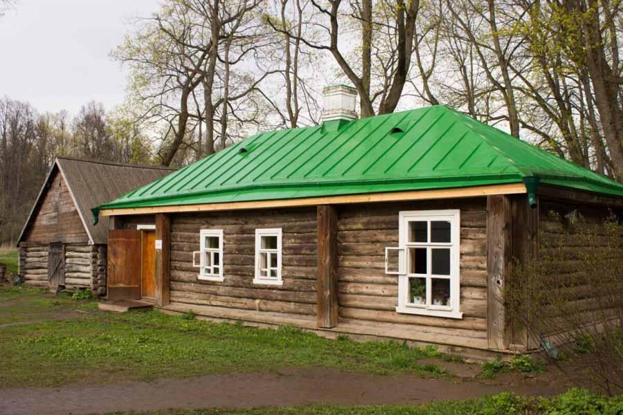 La casa di legno in Russia
