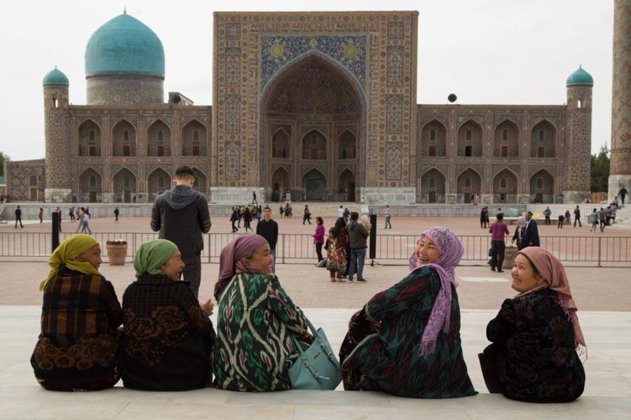 Donne di Uzbekistan