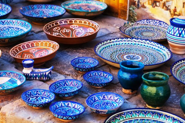 Ceramica di Uzbekistan