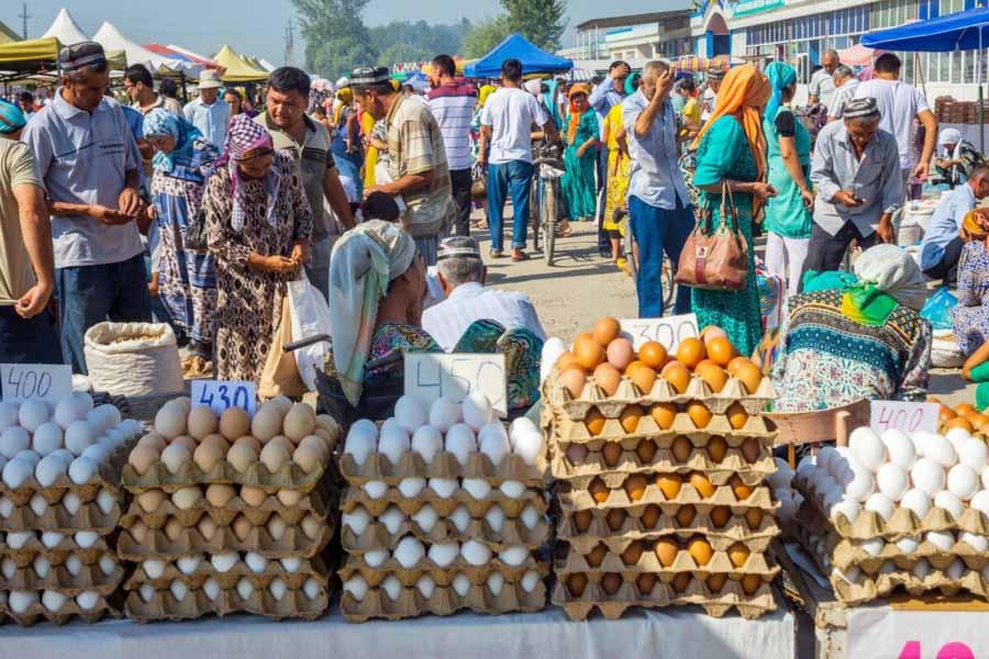 Il Mercato in Uzbekistan