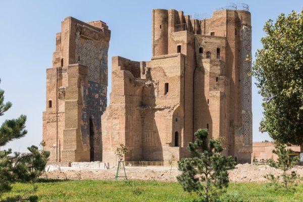 Palazzo antico in Uzbekistan
