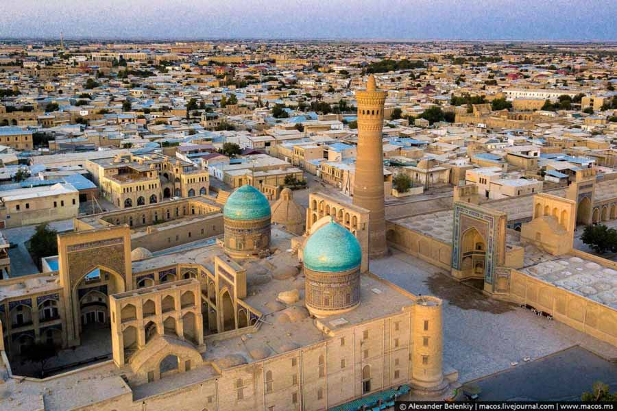Uzbekistan, la cattedrale